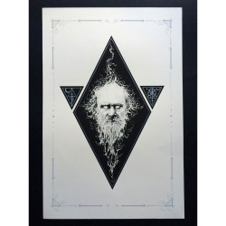 Lynched - Coldest Fire (from Cold Old Fire) - Screen print