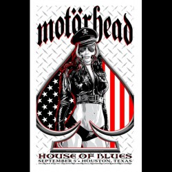Motorhead - Houston Show - US Version - Giclée