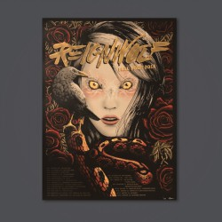Reignwolf - Fall Tour 2018 - Lithograph