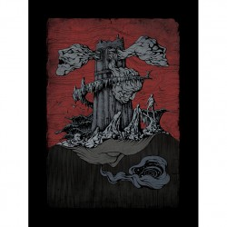 Bloodway - Walking Past Near The Lighthouse - Canvas