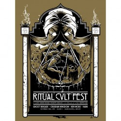Ghost Brigade - Ritual Kvlt - Screenprint