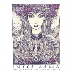 Inter Arma - Inter Arma - Screenprint