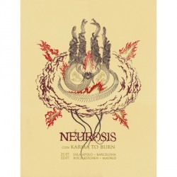 Neurosis - Neurosis Con Karma To Burn - Screen print