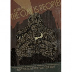 Beware! The Clay Is People! - Poster