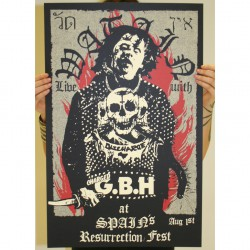 Watain - Part 8 Of 10 Of The Watain Poster Series - Screenprint